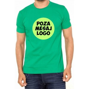 Tricou Verde ''Fruit of the Loom'' personalizat