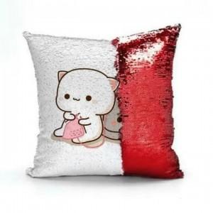 perna cu paiete rosii personalizata