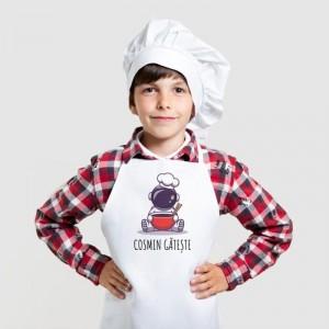 sort de bucatarie pentru copii personalizat