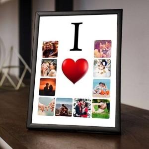 Rama foto personalizata cu 10 poze