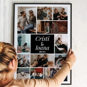 Rama foto personalizata cu poze