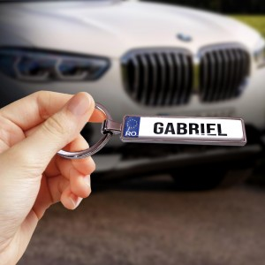 Breloc auto personalizat