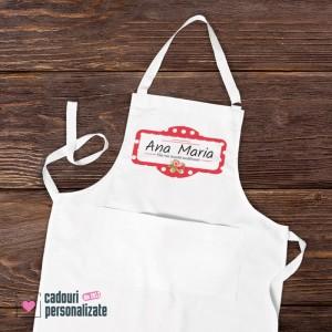 Șorț de bucătărie personalizat