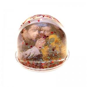 Glob foto cu inimioare